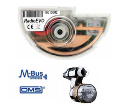 Modulo RadioEVO 868 MHz, wireless M-Bus