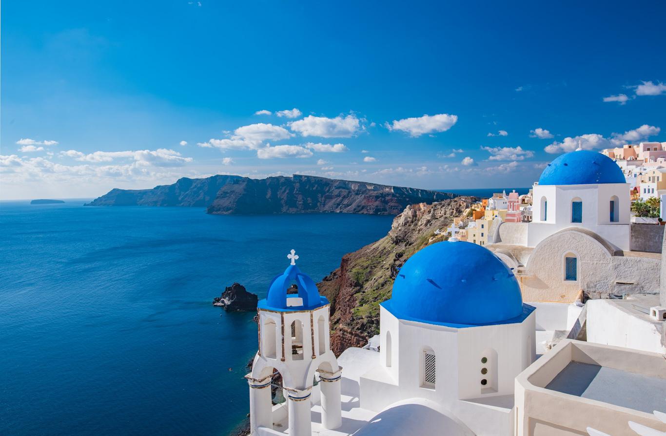 Grecia - Isole Cicladi: Mykonos. Naxos e Santorini