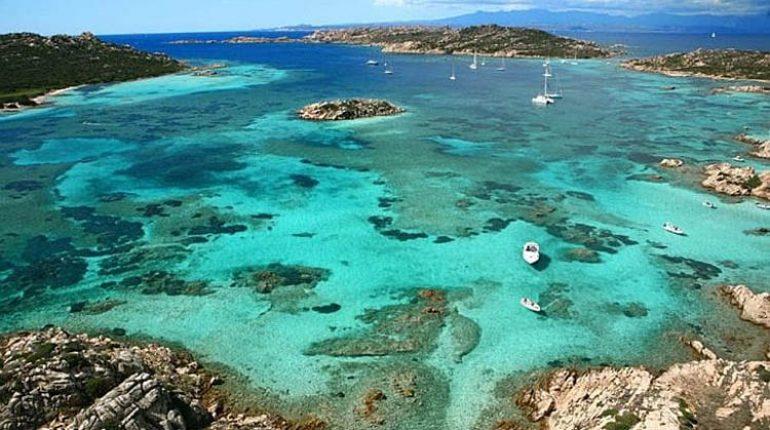 Primi tuffi in Sardegna: Costa smeralda e la Maddalena