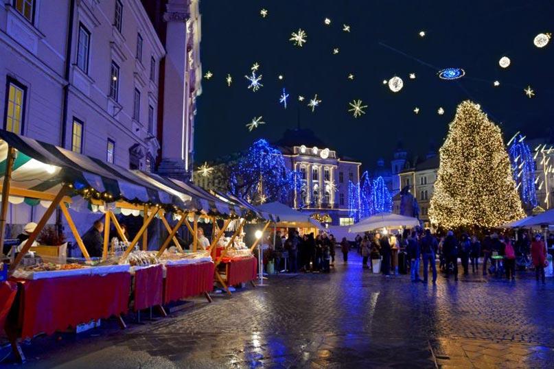 Mercatini di Natale a Ljubljana